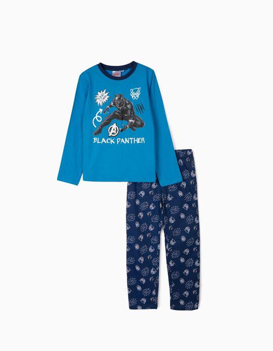Pijama para Menino 'Black Panther', Azul