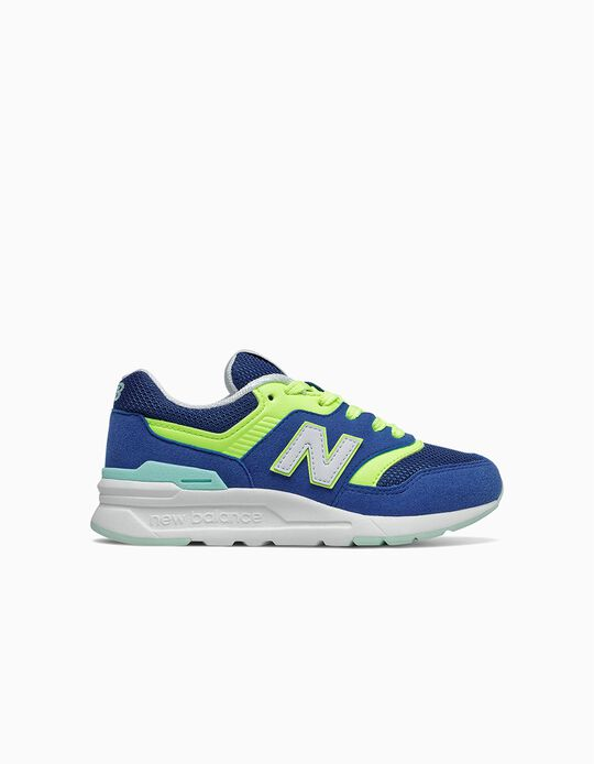 Trainers for Boys 'New Balance 997H', Blue/Yellow