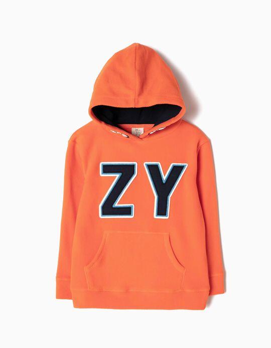 Sweatshirt Polar ZY Laranja