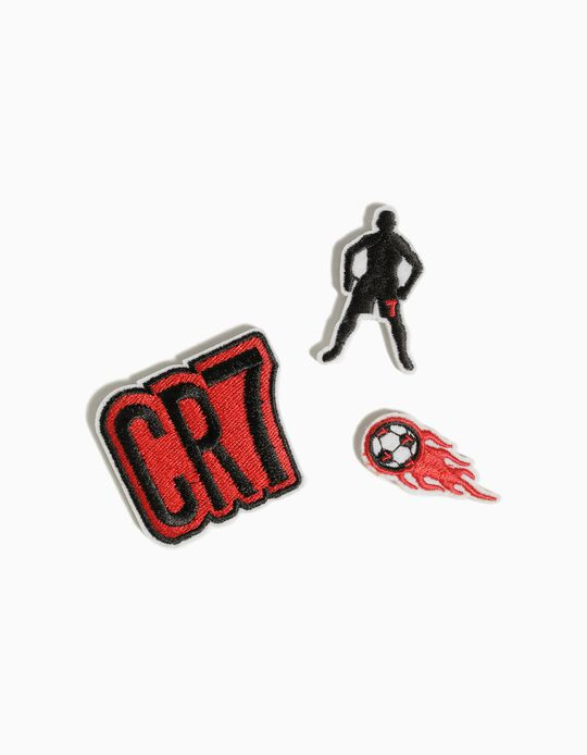3-Pack CR7 Patches, Assorted