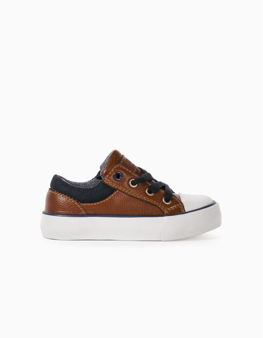 Trainers for Baby Boys, 'ZY', Brown