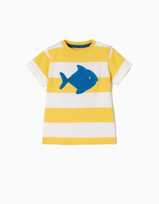 T-shirt Estampada Fish