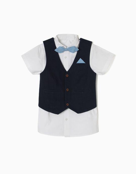 Conjunto de Chaleco y Camisa Edición Especial
