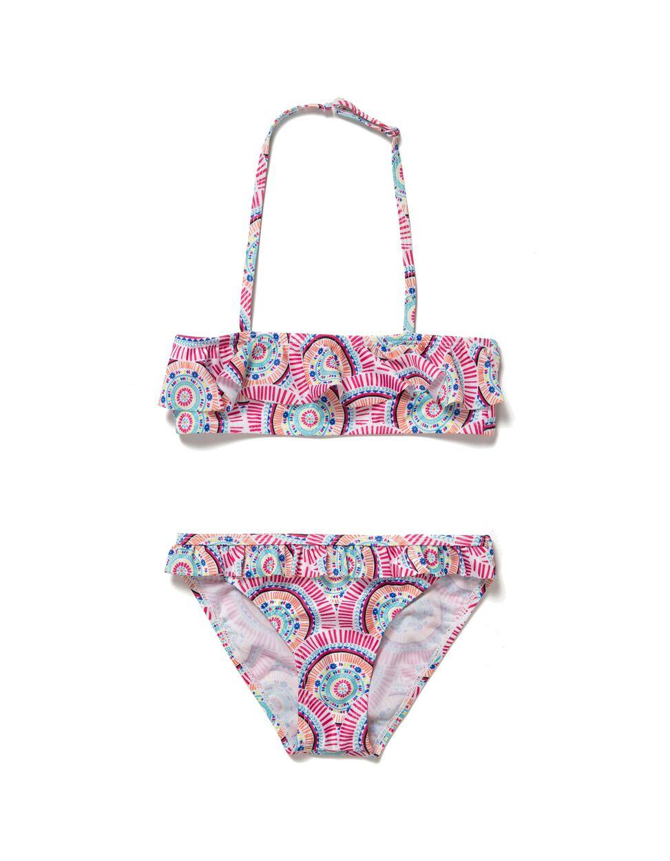 Bikini Con Volantes