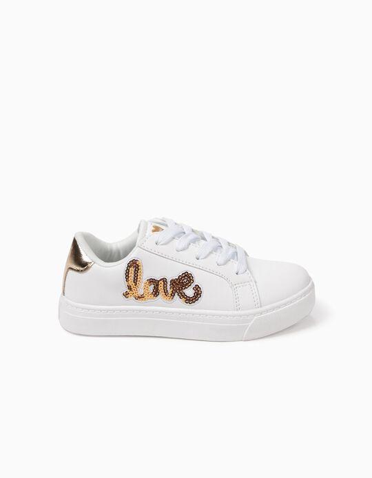 Zapatillas Love Blancas