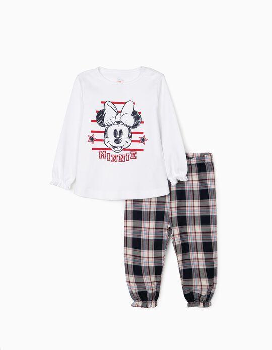 Pijama para Bebé Niña 'Minnie', Blanco/Rojo/Azul