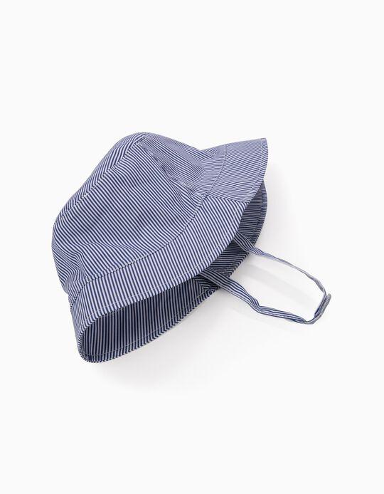 Sombrero para Niña 'Rayas', Azul