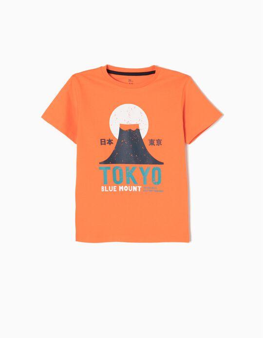 Camiseta Tokyo Naranja