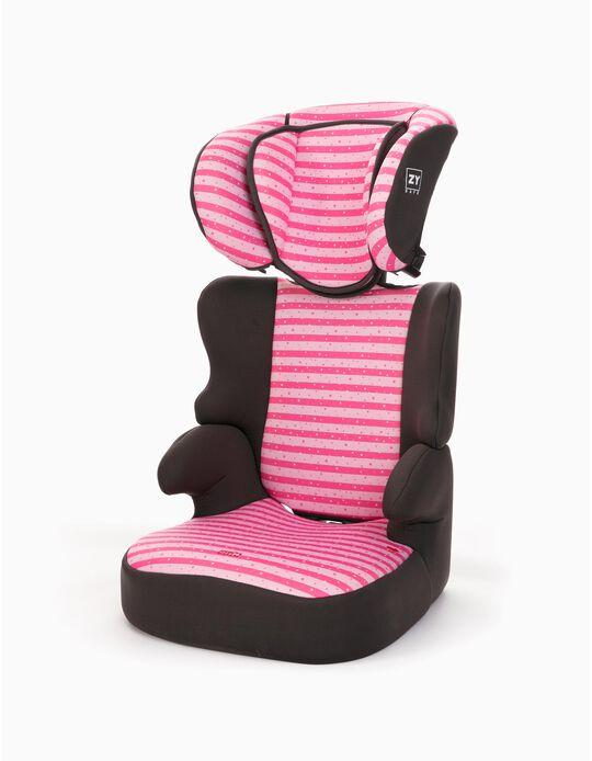 Silla para Coche Gr 2/3 Izzygo Plus Zy Safe Stars Pink
