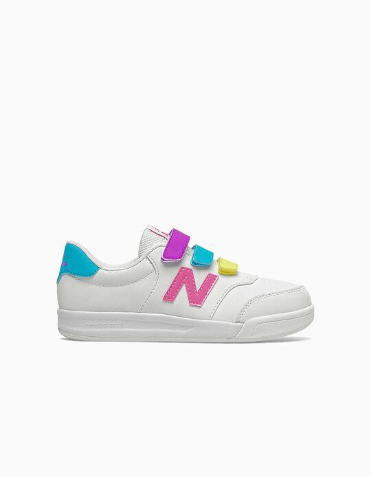 Zapatillas para Niña 'New Balance CT60', Blanco/Multicolor