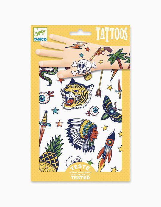 Tattoos Metal Bang Bang Djeco 3A+