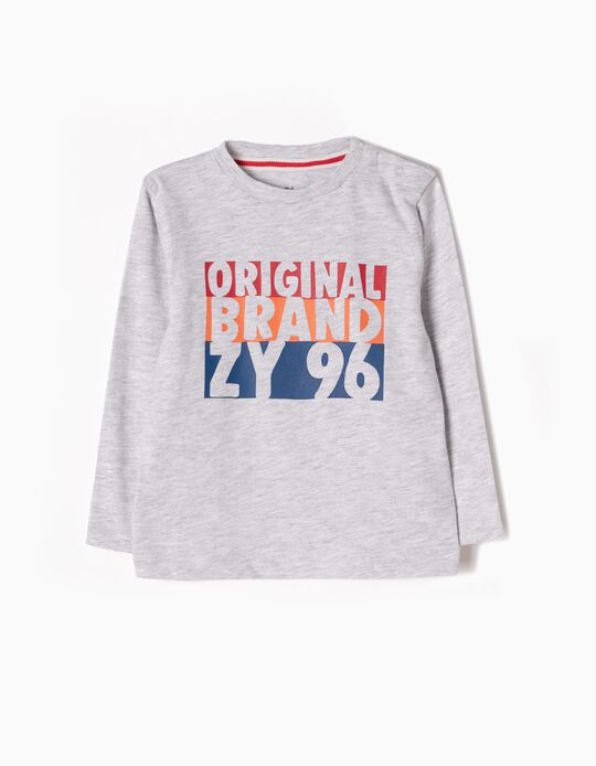 Camiseta de Manga Larga Original Brand
