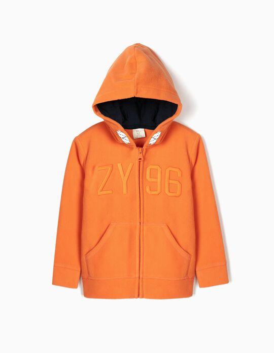 Chaqueta Polar para Niño 'ZY 96', Naranja