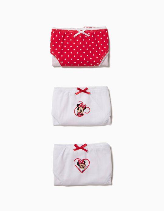 Pack 3 Cuecas Minnie
