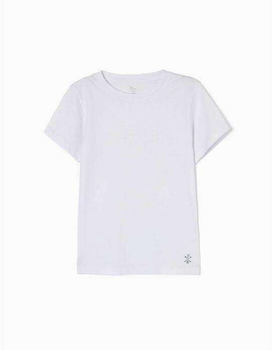 Camiseta para Niño, Blanca