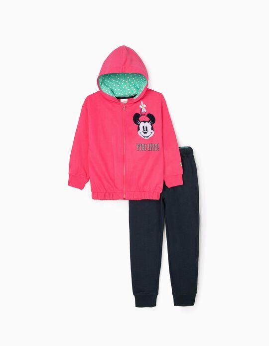 Fato de Treino para Menina 'Minnie', Rosa/Azul Escuro