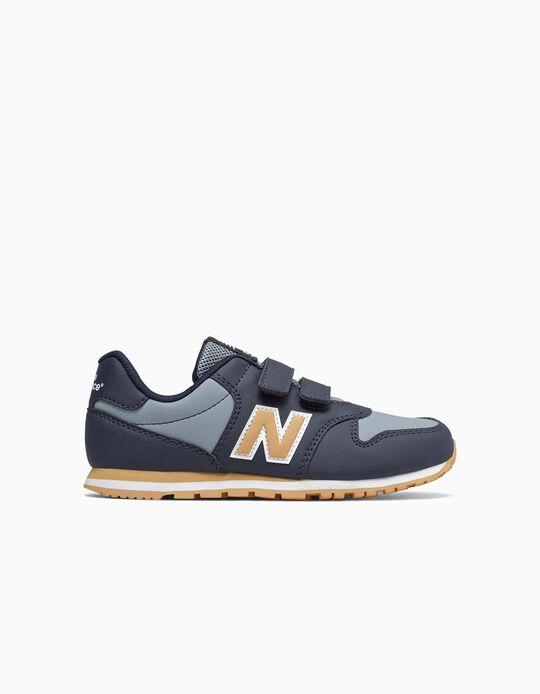 Zapatillas New Balance 500 Azul/Ocre
