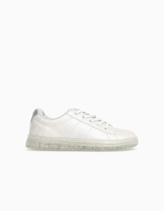 Sapatilhas para Menina '1996 Sneakers', Branco Pérola