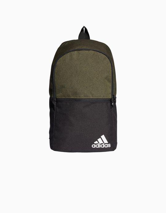 Mochila para Criança 'Adidas Daily Backpack II', Preto/Verde