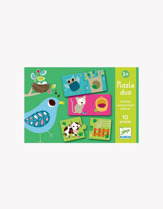 Puzzle - Habitat 10pcs Djeco