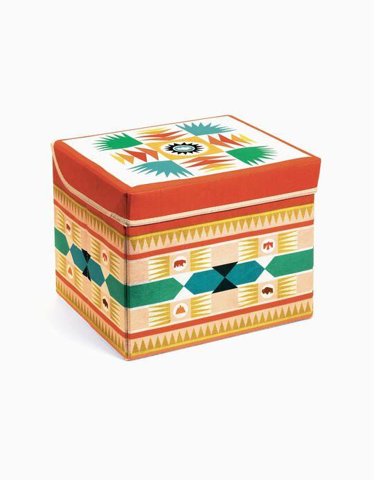 Caixa De Brinquedos Tipi Djeco