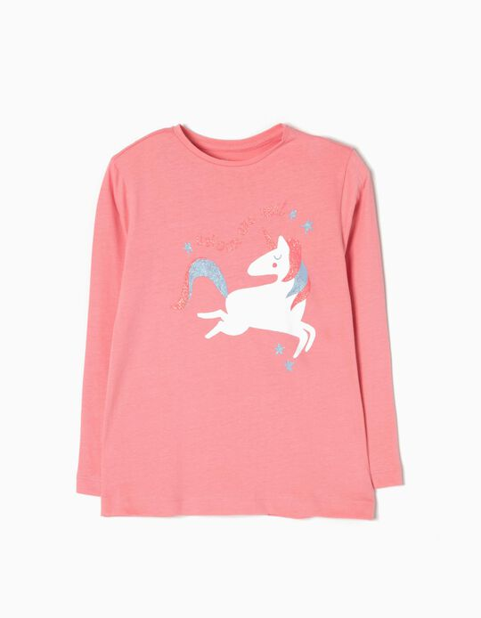 T-shirt Manga Comprida Unicorn