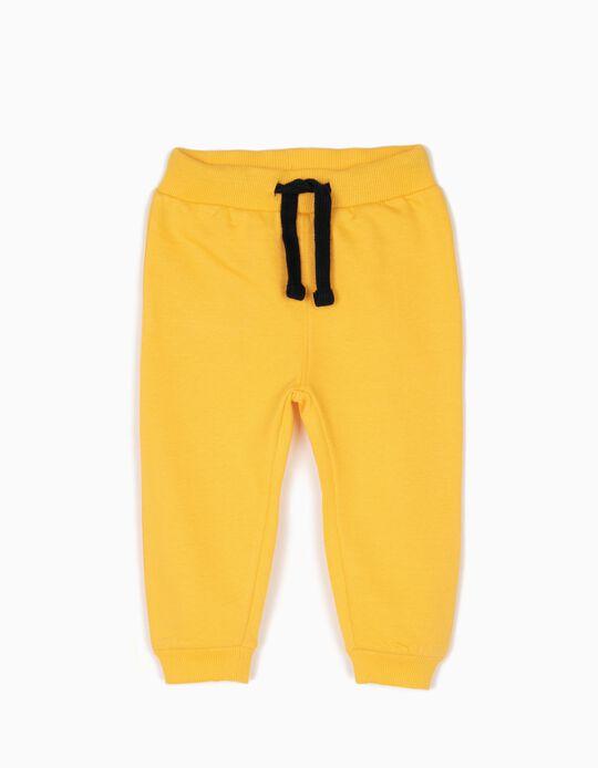 Pantalón de Chándal Ice Hockey Amarillo