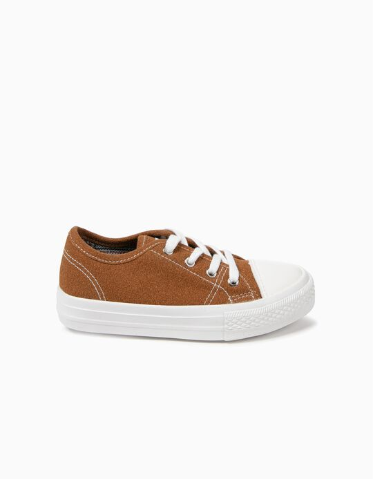 Trainers for Kids 'ZY 50's', Camel