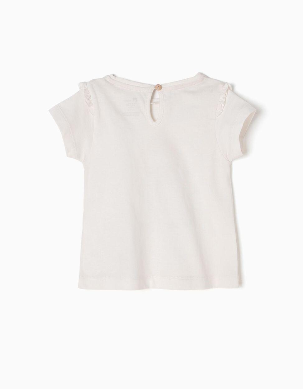 T-shirt Branca Sweet Gardener