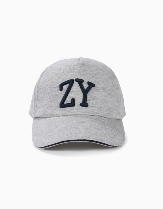 Gorra para Niño 'South Coast', Gris y Azul