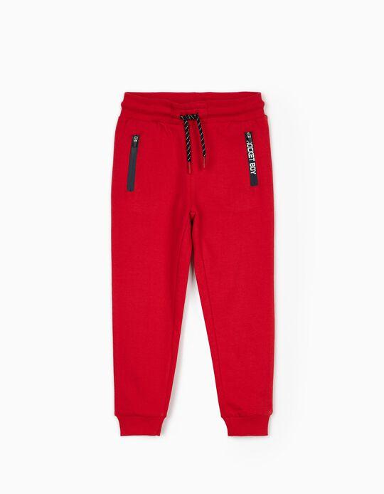 Pantalón de Chándal para Niño 'Rocket Boy', Rojo