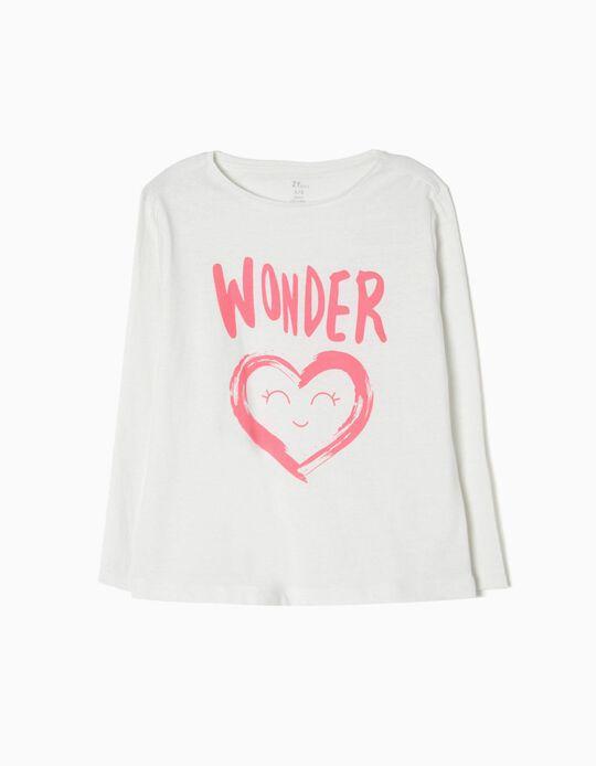 T-shirt Manga Comprida Wonder