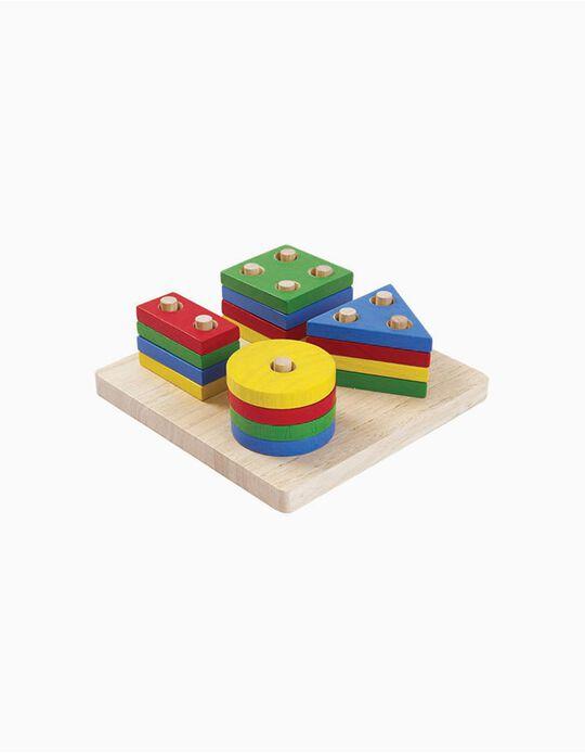 Jogo Das Figuras Geométricas Plan Toys 2A+