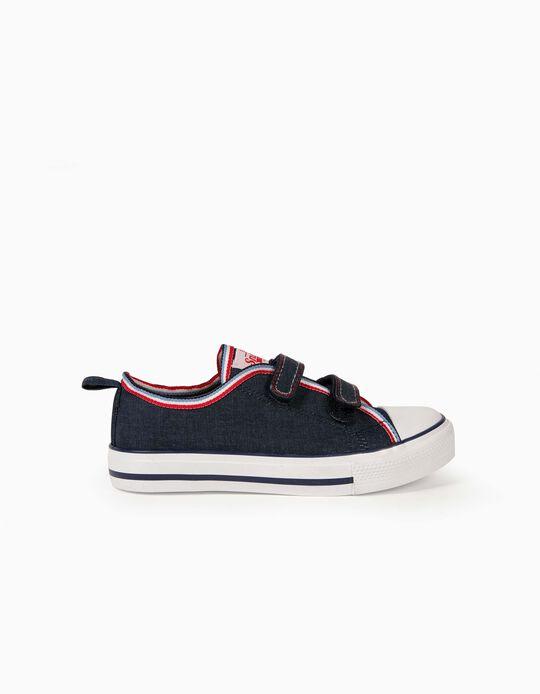 Trainers for Children, '50s Sneaker', Dark Blue