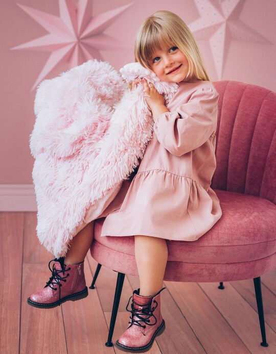 Manta Koochicoo Bizzi Growin Whisper Blush Pink