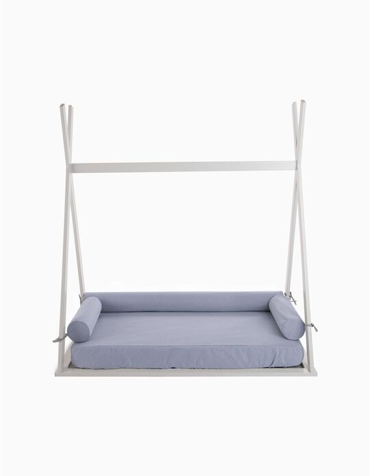 Capa de colchón + 3 almohadas para Tipi Zy Baby