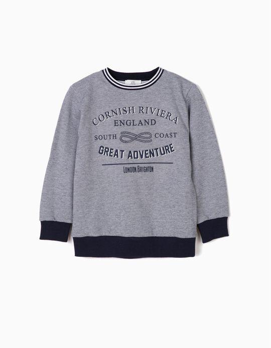 Sweatshirt para Menino 'Cornish Riviera', Azul
