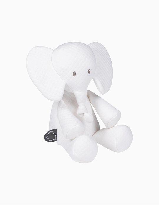 Soft Toy Tembo Elephant Jacquard Nattou 36 cm