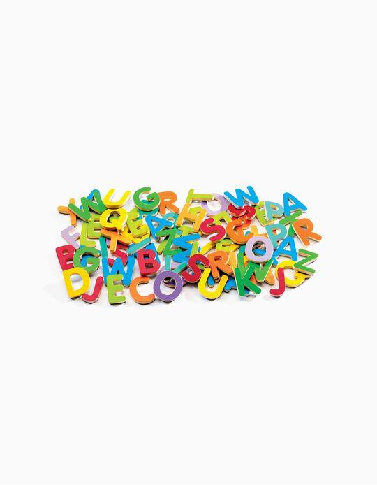 Letras magnéticas Djeco 83 piezas