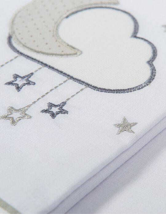 Juego de Sabanas para Cuna 80x140cm Nube Petit Star 3 pcs.