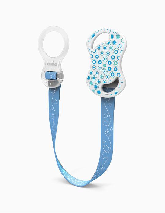 Pacifier Clip Nuvita Blue