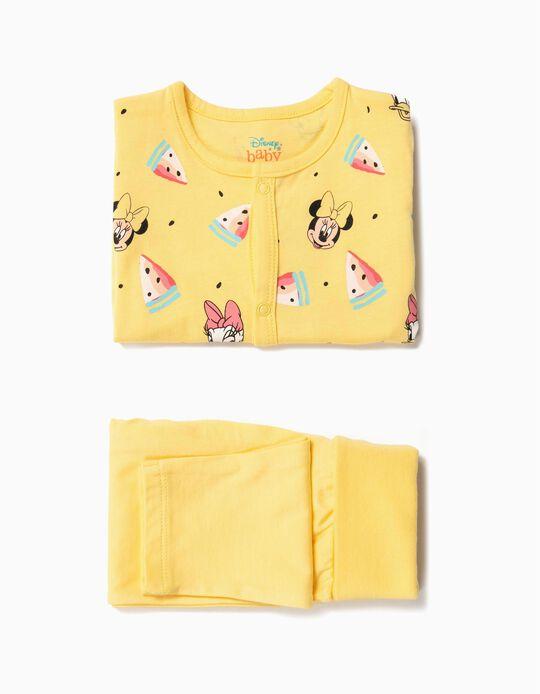 Body e Calças para Bebé Menina 'Minnie & Daisy', Amarelo