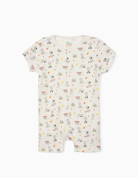 Grenouillère bébé garçon '101 Dalmatiens', blanc