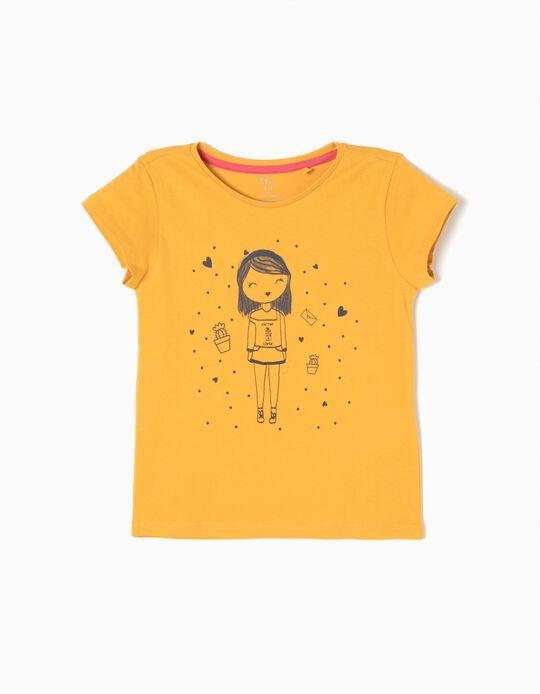 Camiseta de Cactus Lover Amarilla