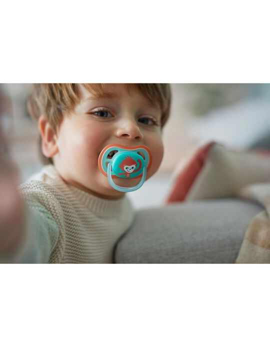 Ultra Air 18M+ Silicone Pacifier, Philips/Avent, 2Un.