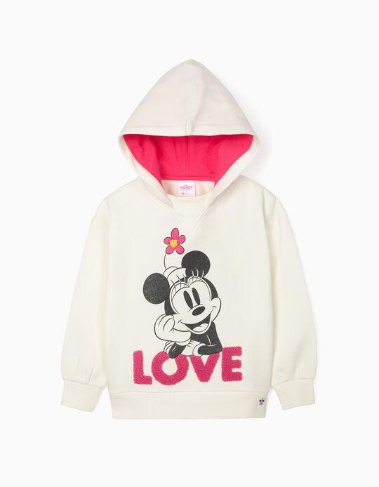 Sweatshirt for Girls 'Minnie', White