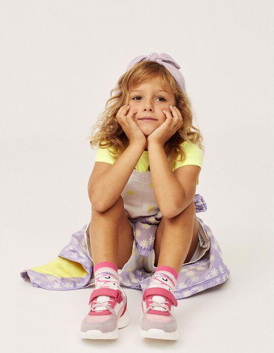 Sapatilhas para Menina 'ZY Superlight Runner', Rosa/Branco