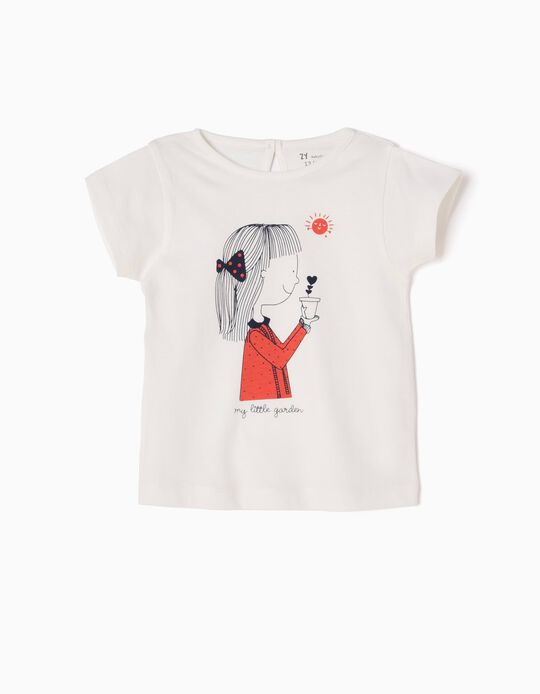 Camiseta Estampada My Little Garden