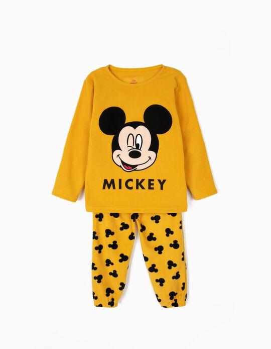 Pijama Polar para Menino 'Mickey', Amarelo