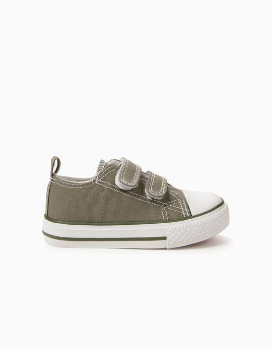 Sapatilhas para Bebé '50's Sneaker' com Velcro, Verde